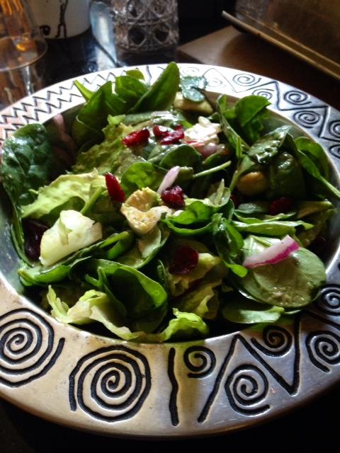Cran bog salad