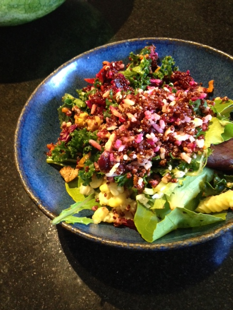quinoa salad mason