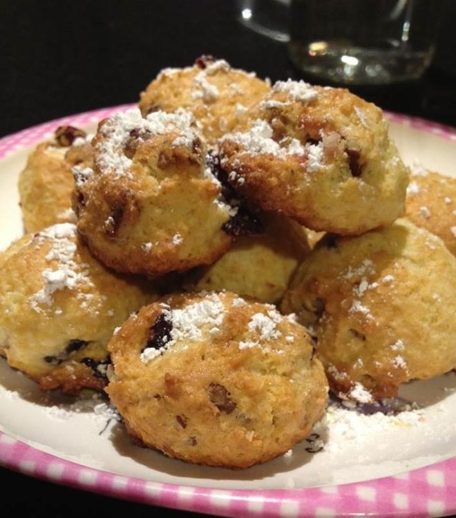 Cran Pecan Christmas Cookies